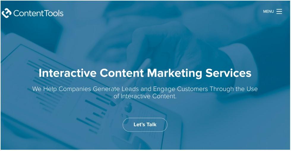 Interactive content content tools