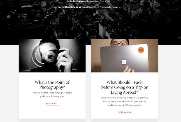 Eric Kim blog consistency in design blog