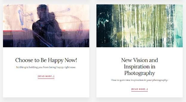 Eric Kim blog consistency in design blog background