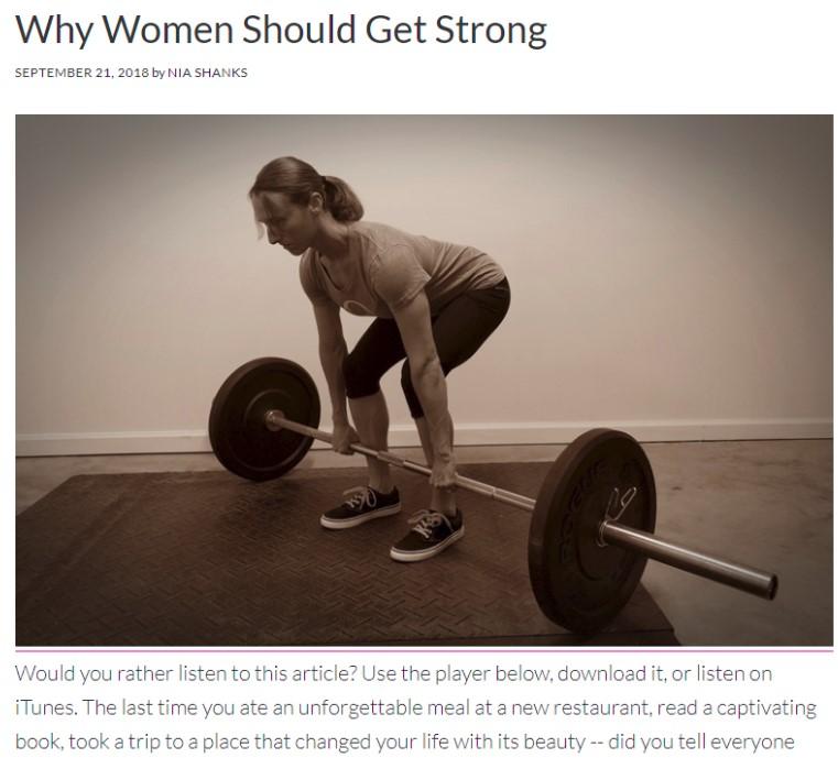 nia shanks blog design for women
