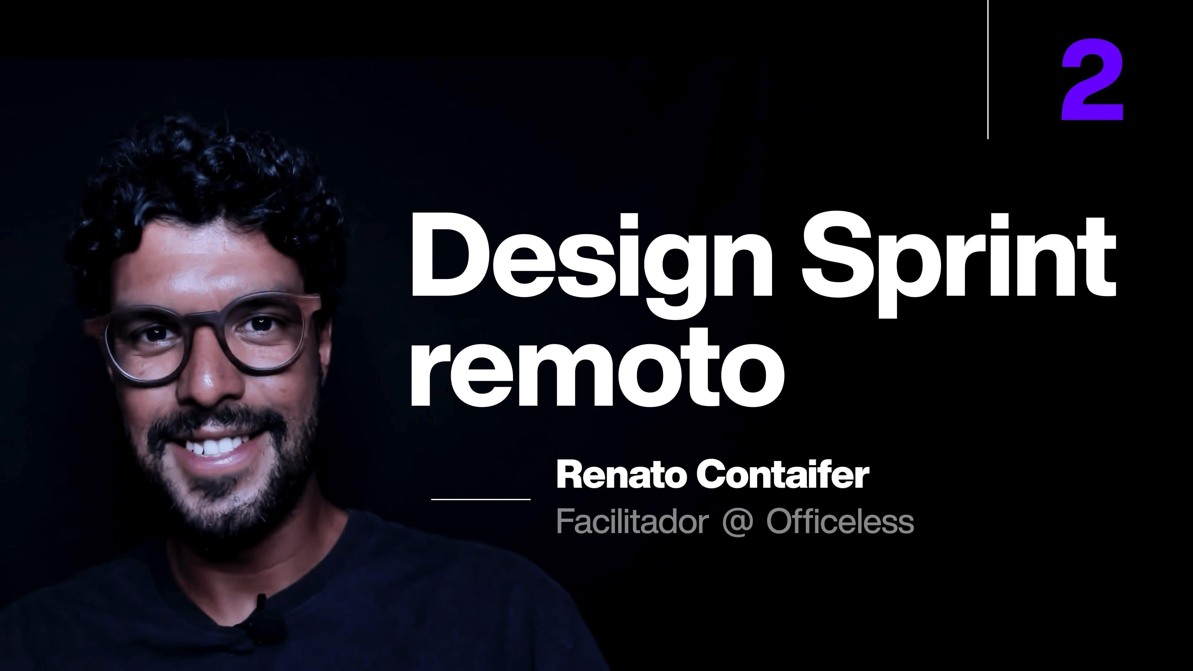 Design Sprint remoto e descomplicado