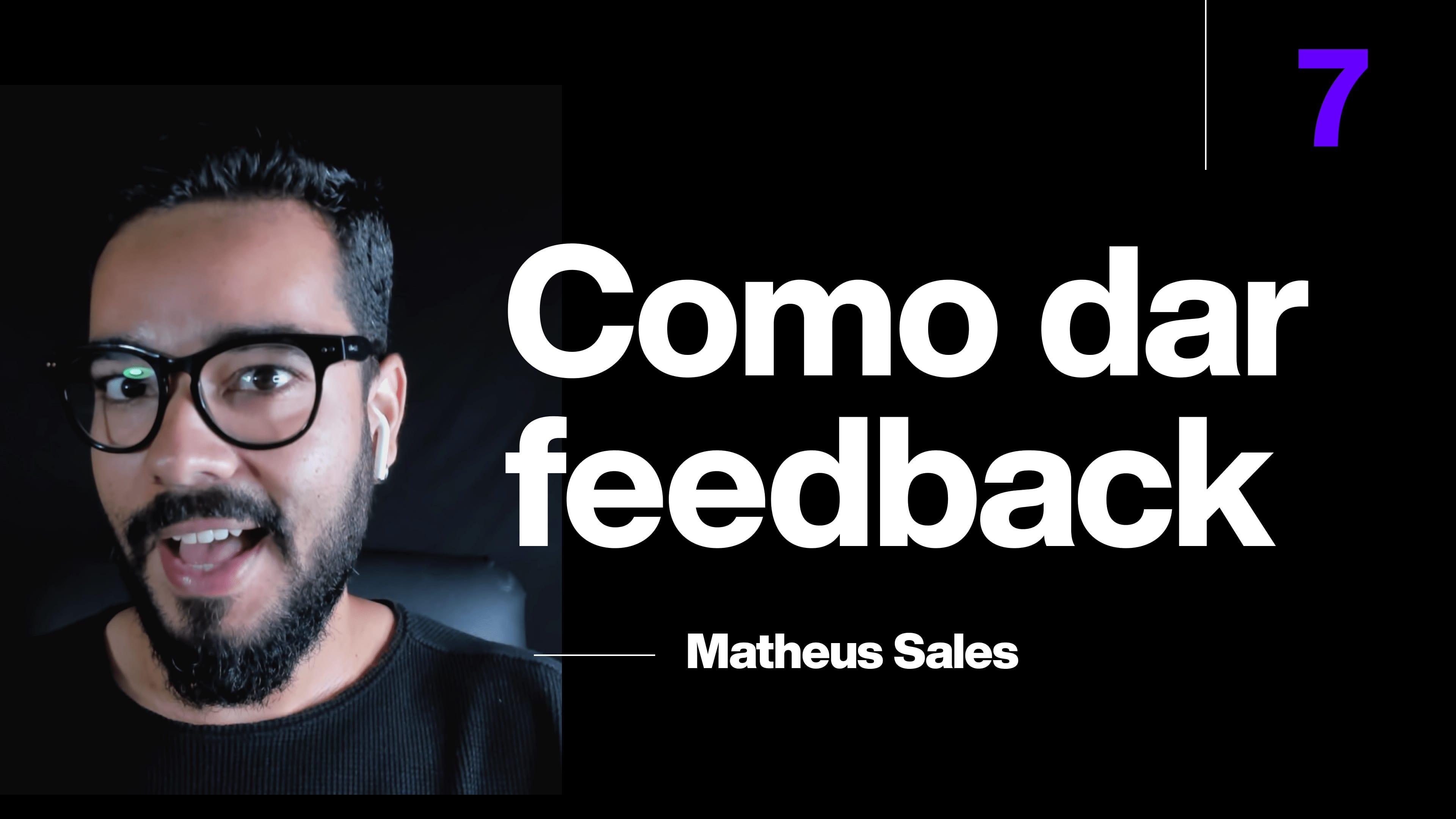 Como dar feedback remotamente