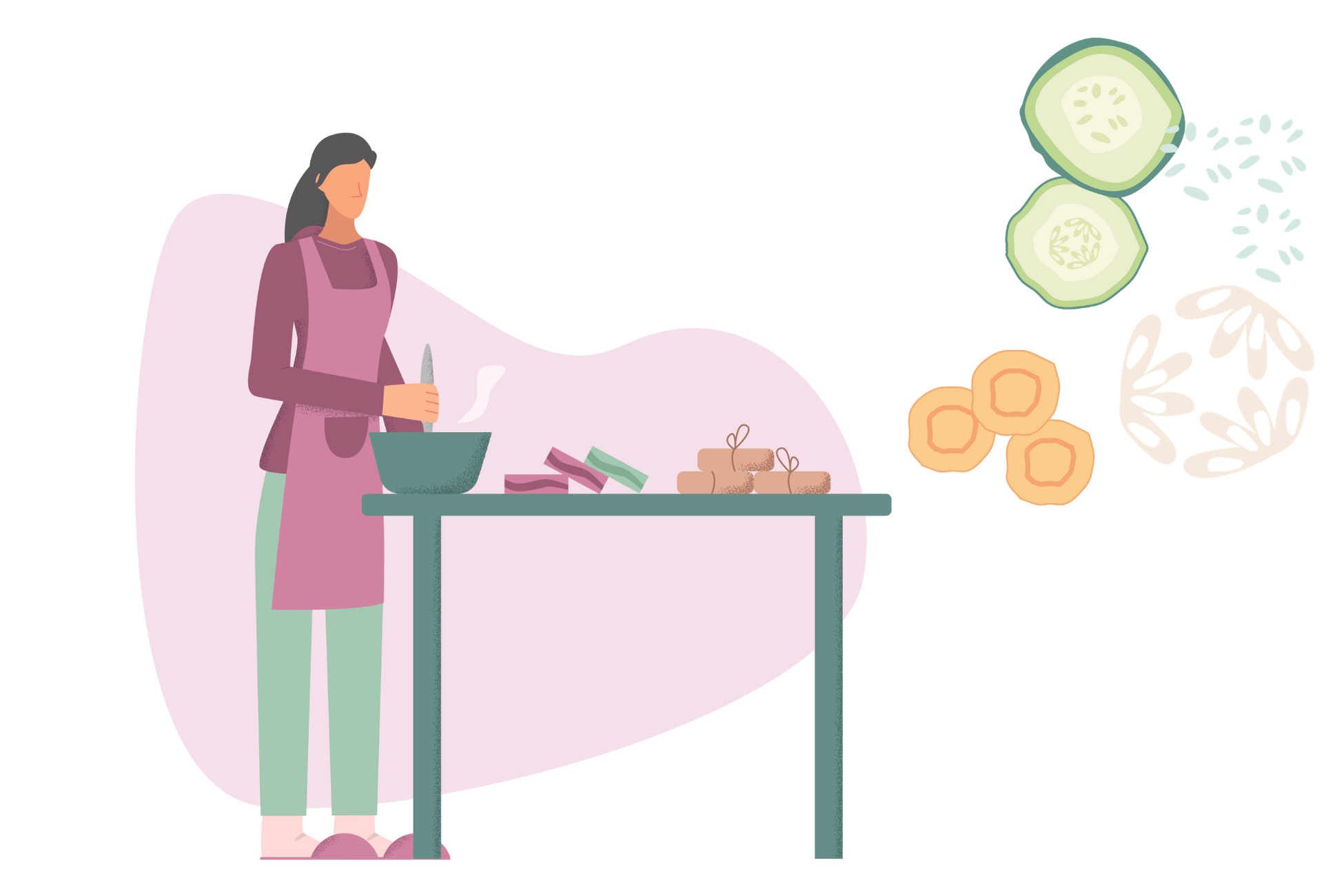 Create your own Carrot, Cucumber & Aloe Vera Soap