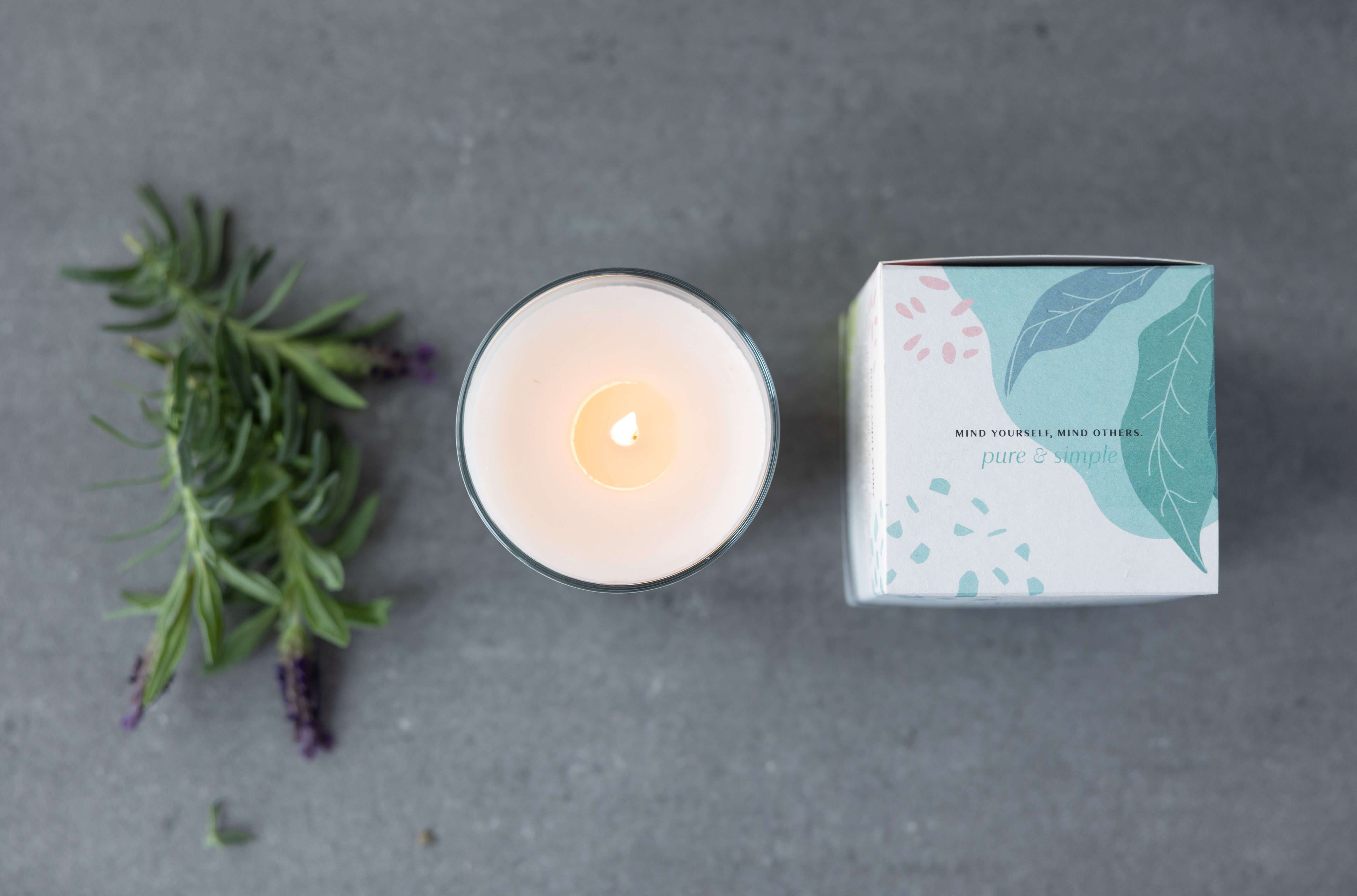 Soy Candle Pure Pomegranate
