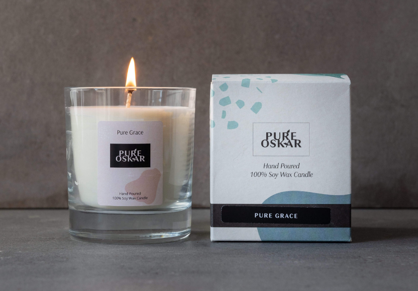 Soy Candle Pure Grace