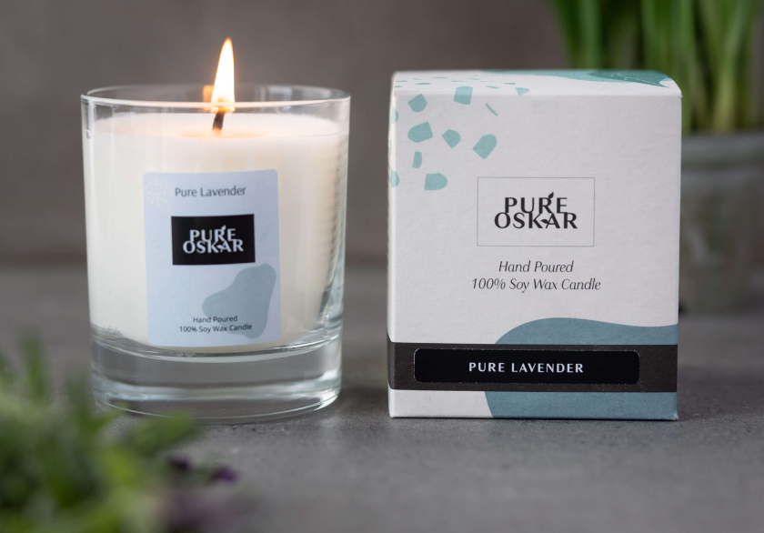 Soy Candle Pure Lavender