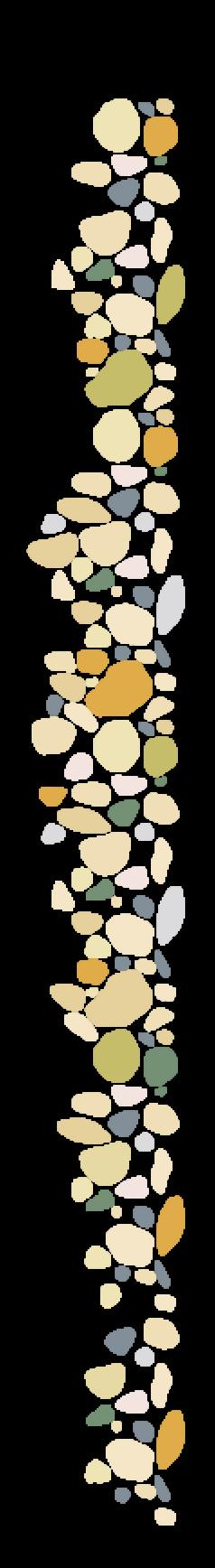 Pebble graphic.