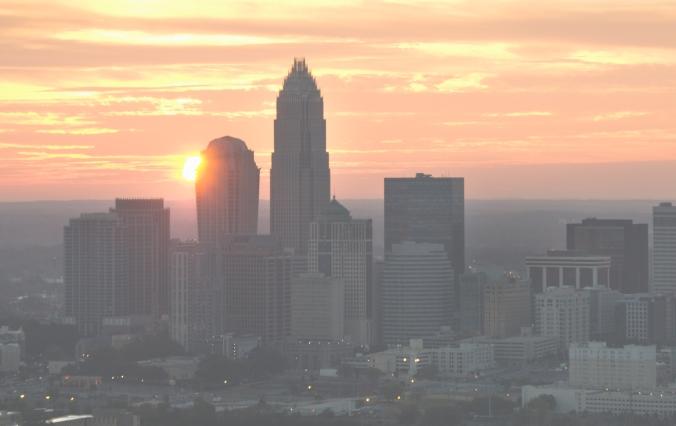Charlotte sunset.