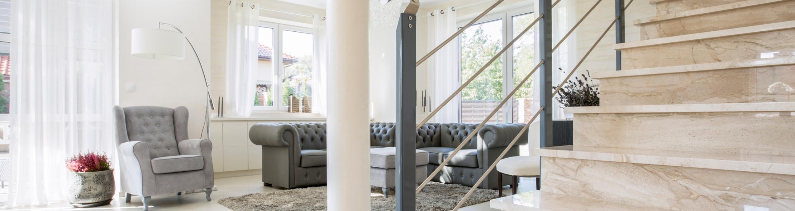 Modern home living room.
