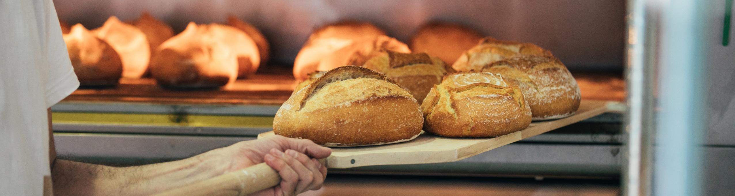 Bakery bread.