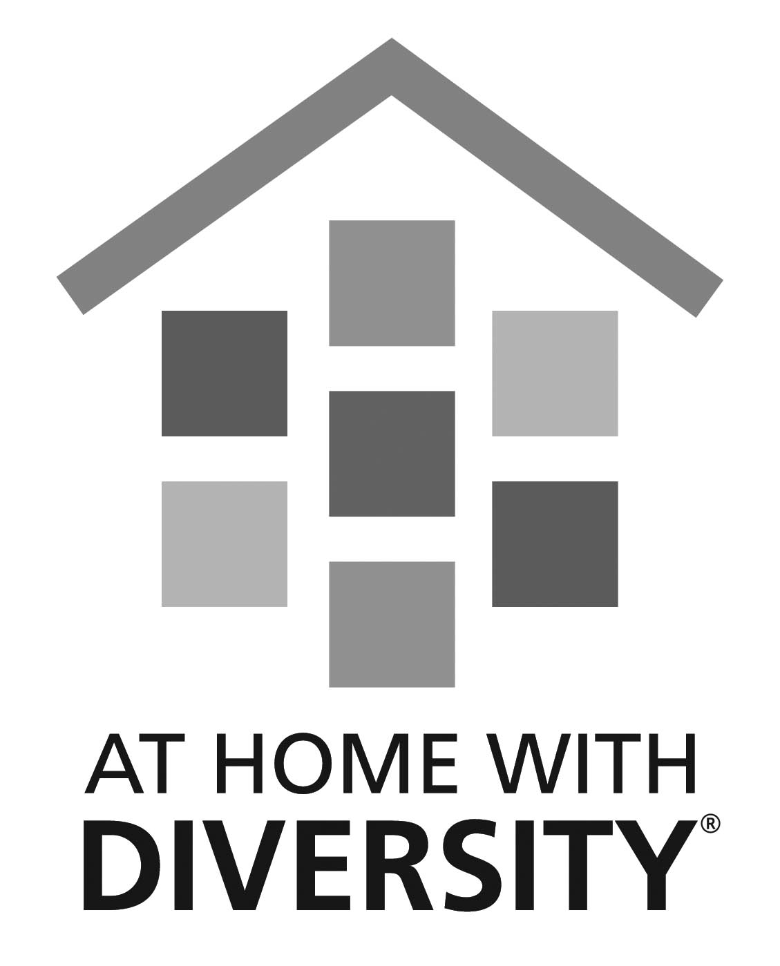 At Home With Diversity logo.
