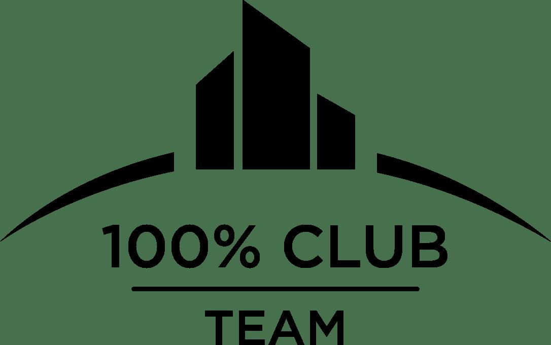 100% Club Award logo.