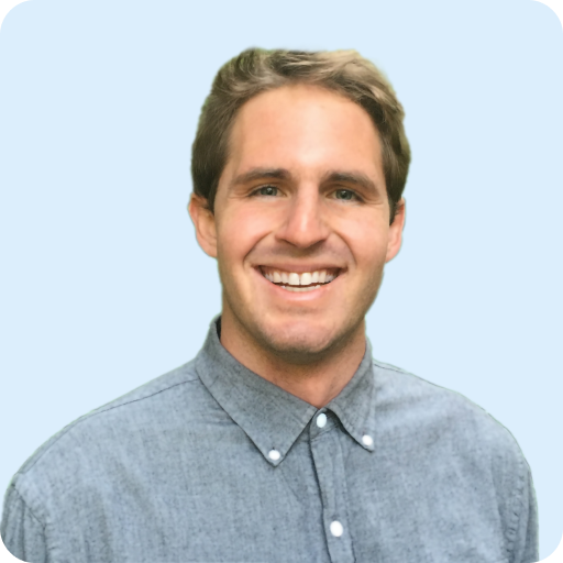 Ryan Higgins' headshot. He is the Marketing Lead for Clarity's air quality monitoring company.