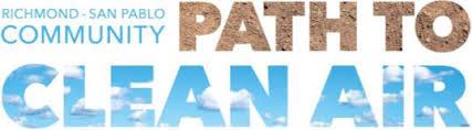 Richmond San Pablo Community Path to Clean Air logo.