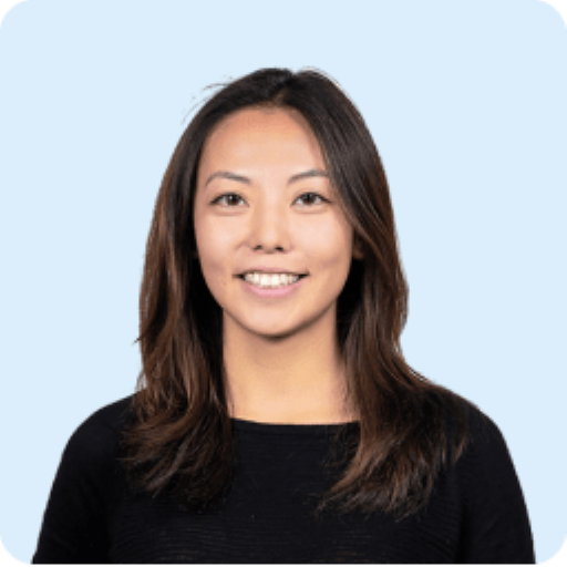 Meiling Gao's headshot. She is the COO of Clarity's air quality monitoring company.