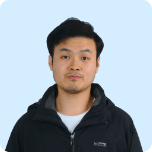 Hsuchen Chou's headshot. He is a Software Engineer for Clarity's air quality monitoring organization.
