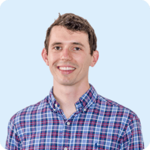 James Stevick's headshot. He is a Hardware Engineer for Clarity's air quality monitoring organization.