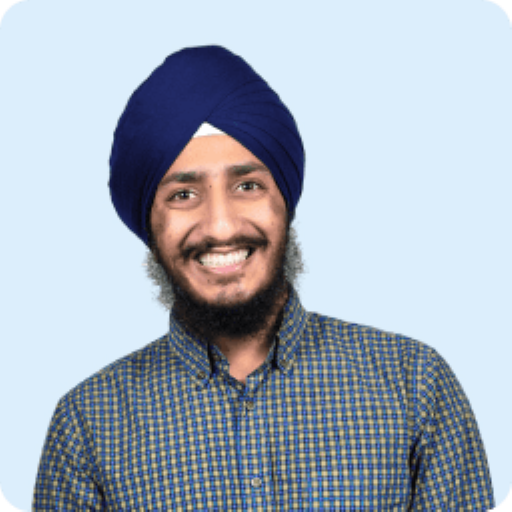 Baljot Singh's headshot. He is the Hardware Lead and Cofounder of Clarity's air quality monitoring solution.