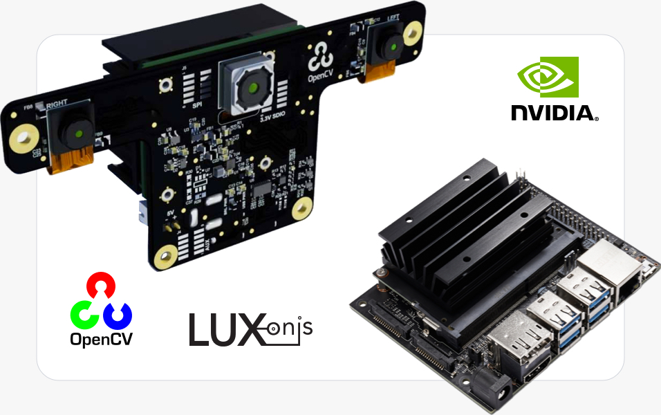 NVIDIA Jetson and Luxonis OpenCV AI Kit (OAK)