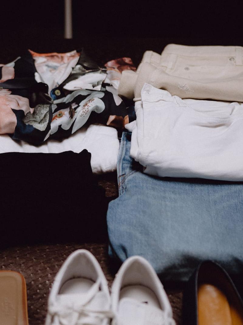 Closet detox and wardrobe curation