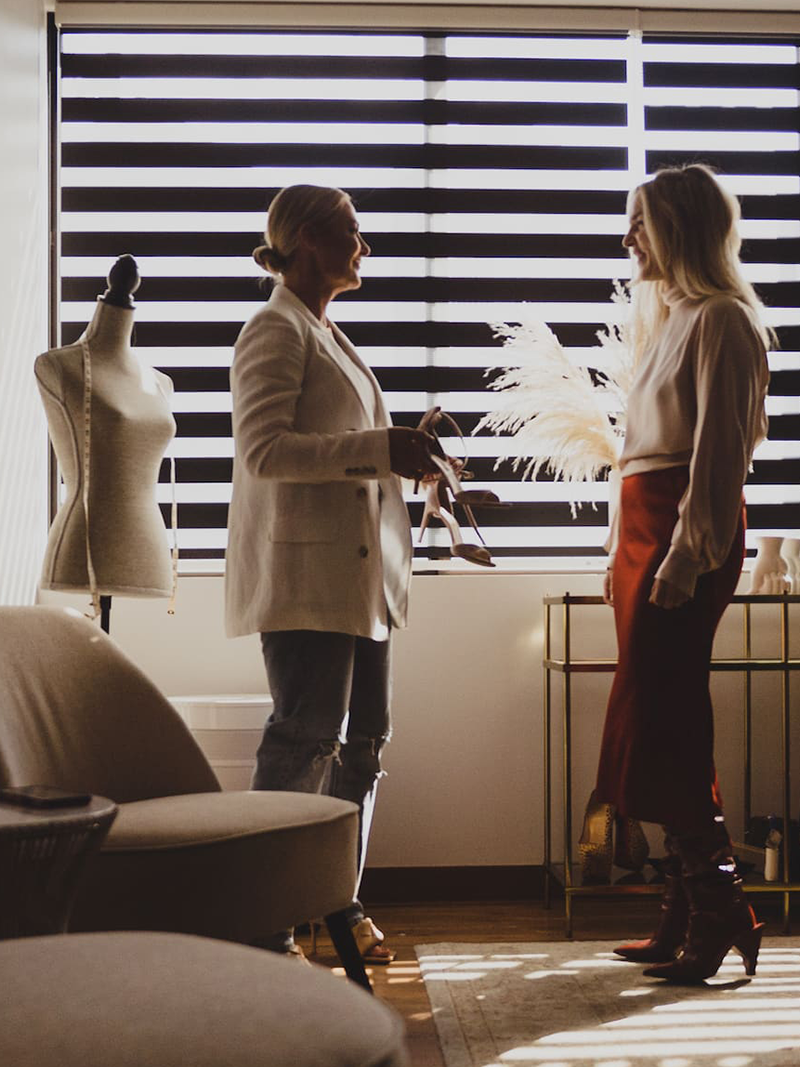Fashion and wardrobe consultation