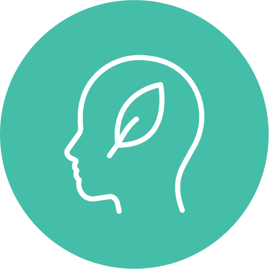 Icon of green thinking.