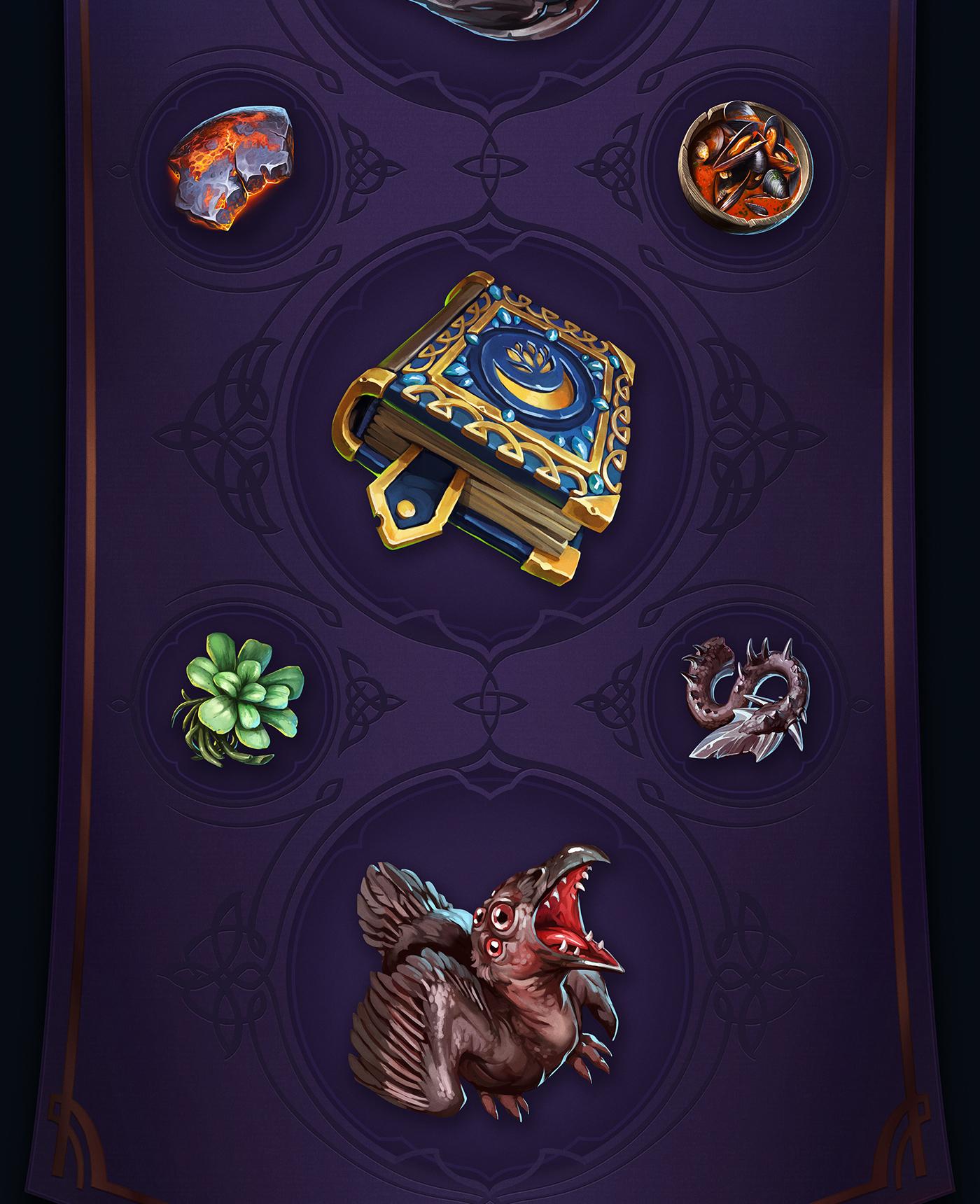 2D Game UI Icons by RocketBrush Studio