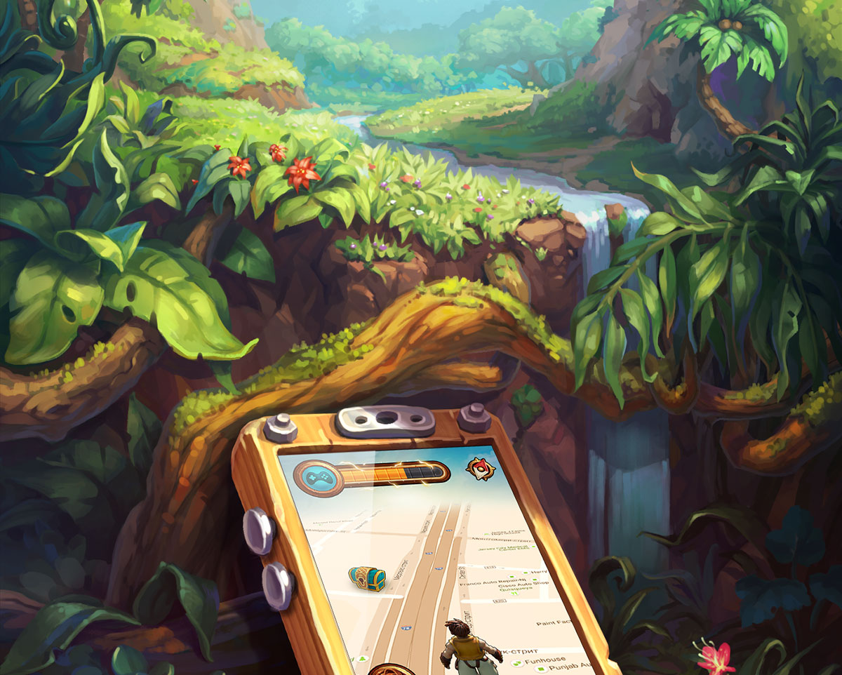 Mobile Game Art and UI Design • TreasureLand