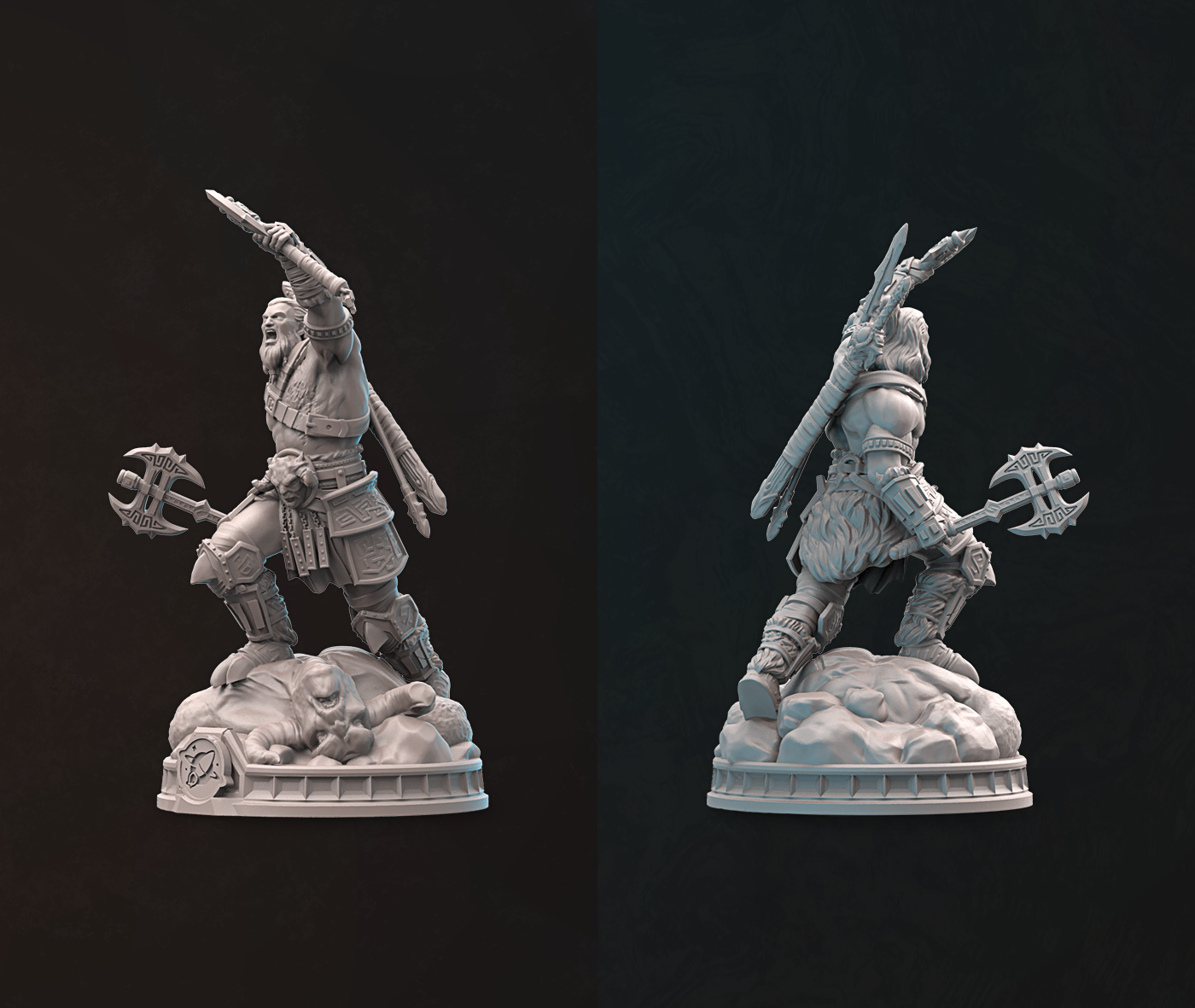3D Model - Sculpture by RocketBrush Studio