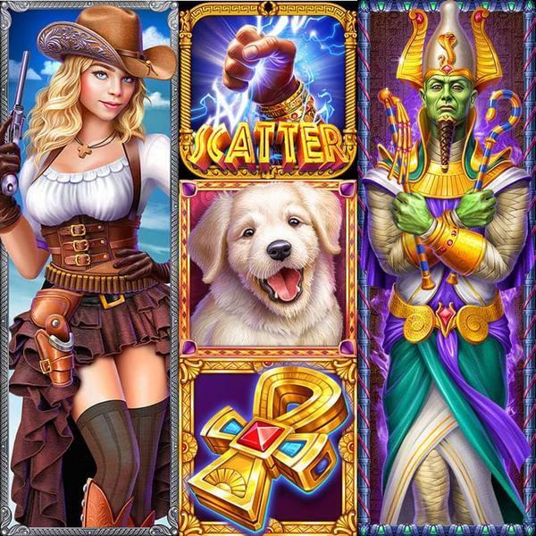 🎰 2D Slot Machine Icons – Custom Tailored Game Art