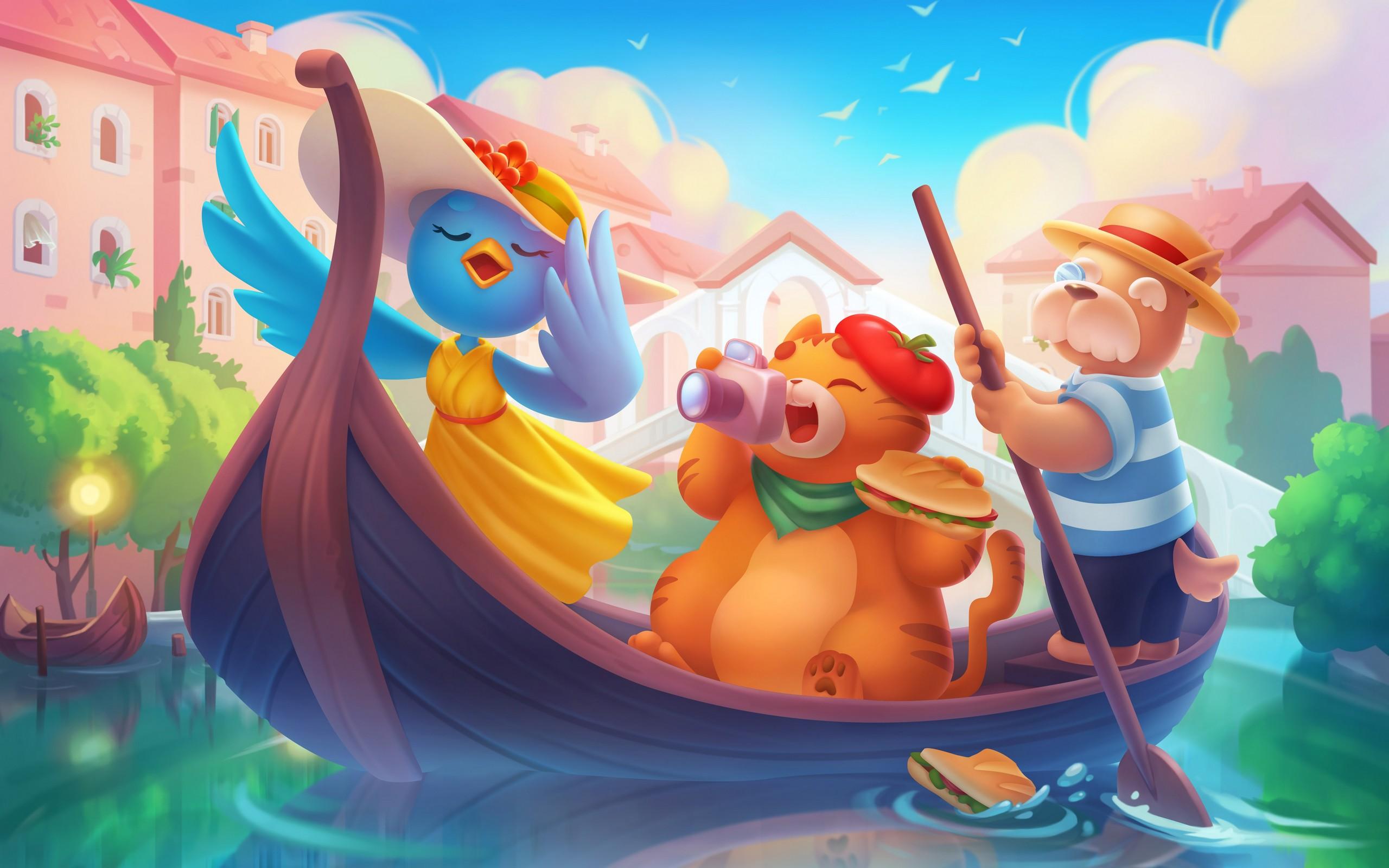 Casual 2D illustrations - game art studio