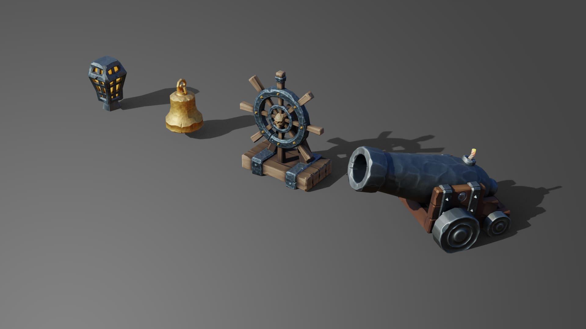 3D art outsourcing studio - Blender, ZBrush, Maya