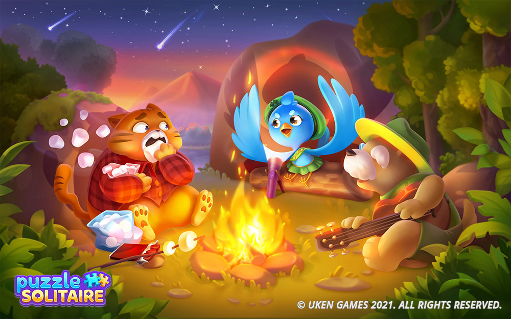 game illustrations, 2D ilustrations, casual game, casual art, casual game art by RocketBrush Studio
