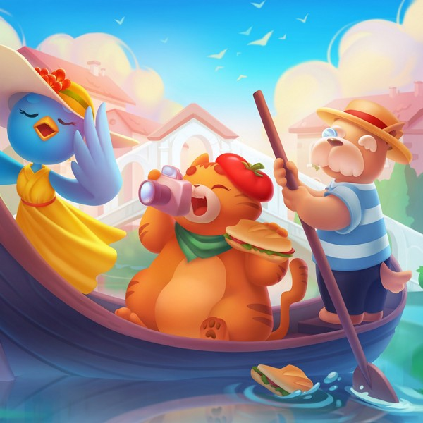 2D Game Illustrations · Casual Game