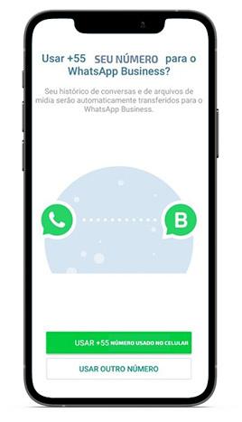 WhatsApp Business - Tela de Instalação