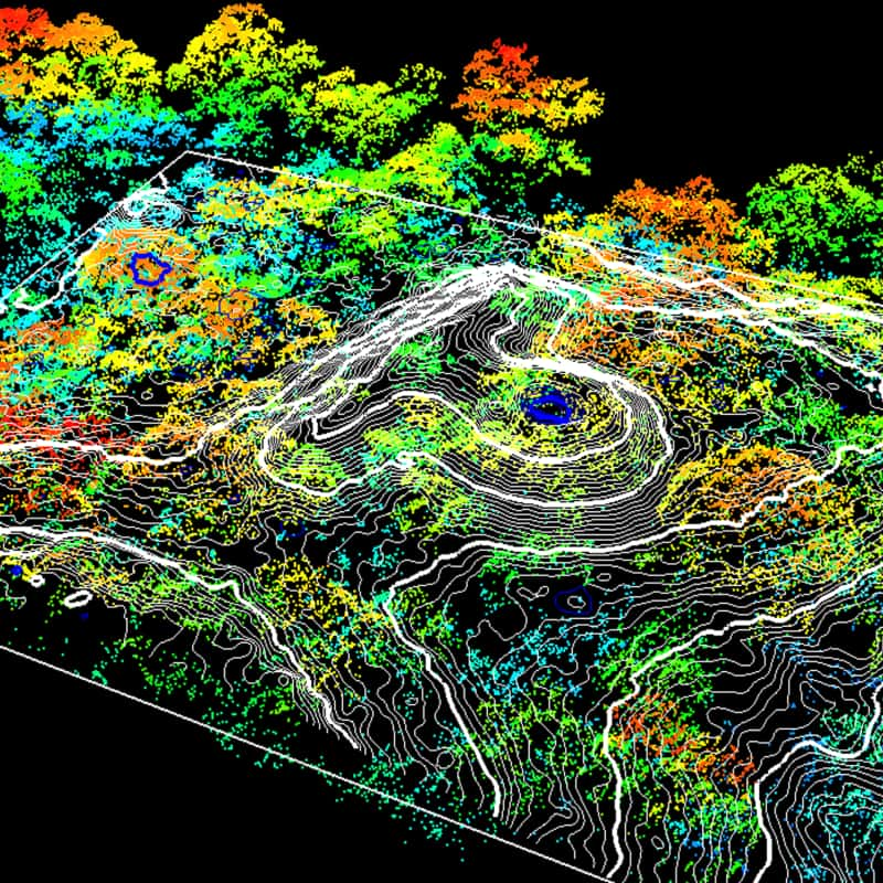 The Earth Archive - LIDAR map