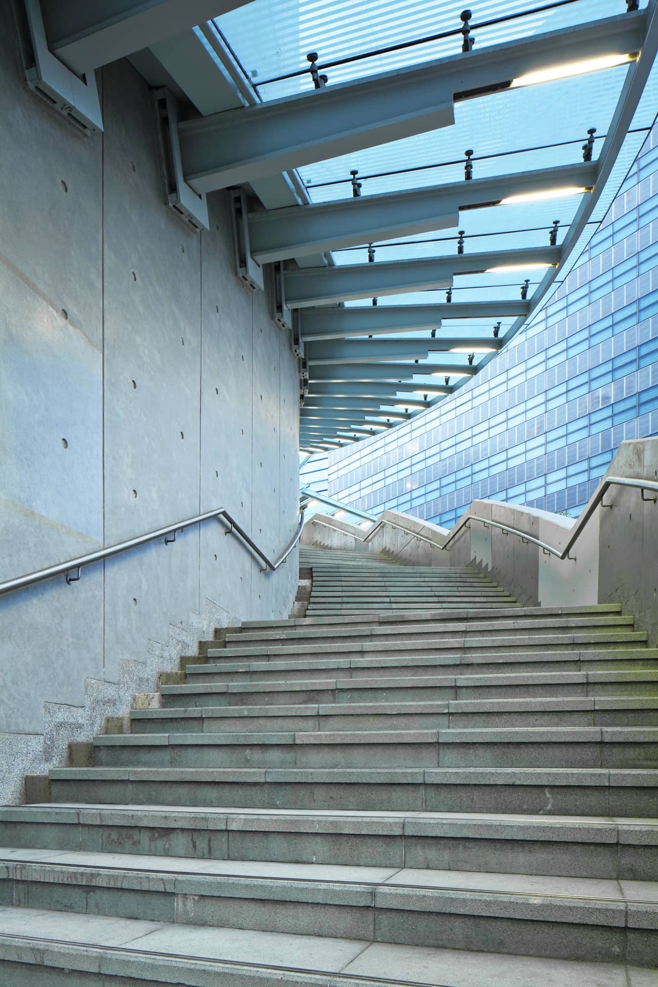 BC Modern Stairs and Glass, Stainless Steel Railings
