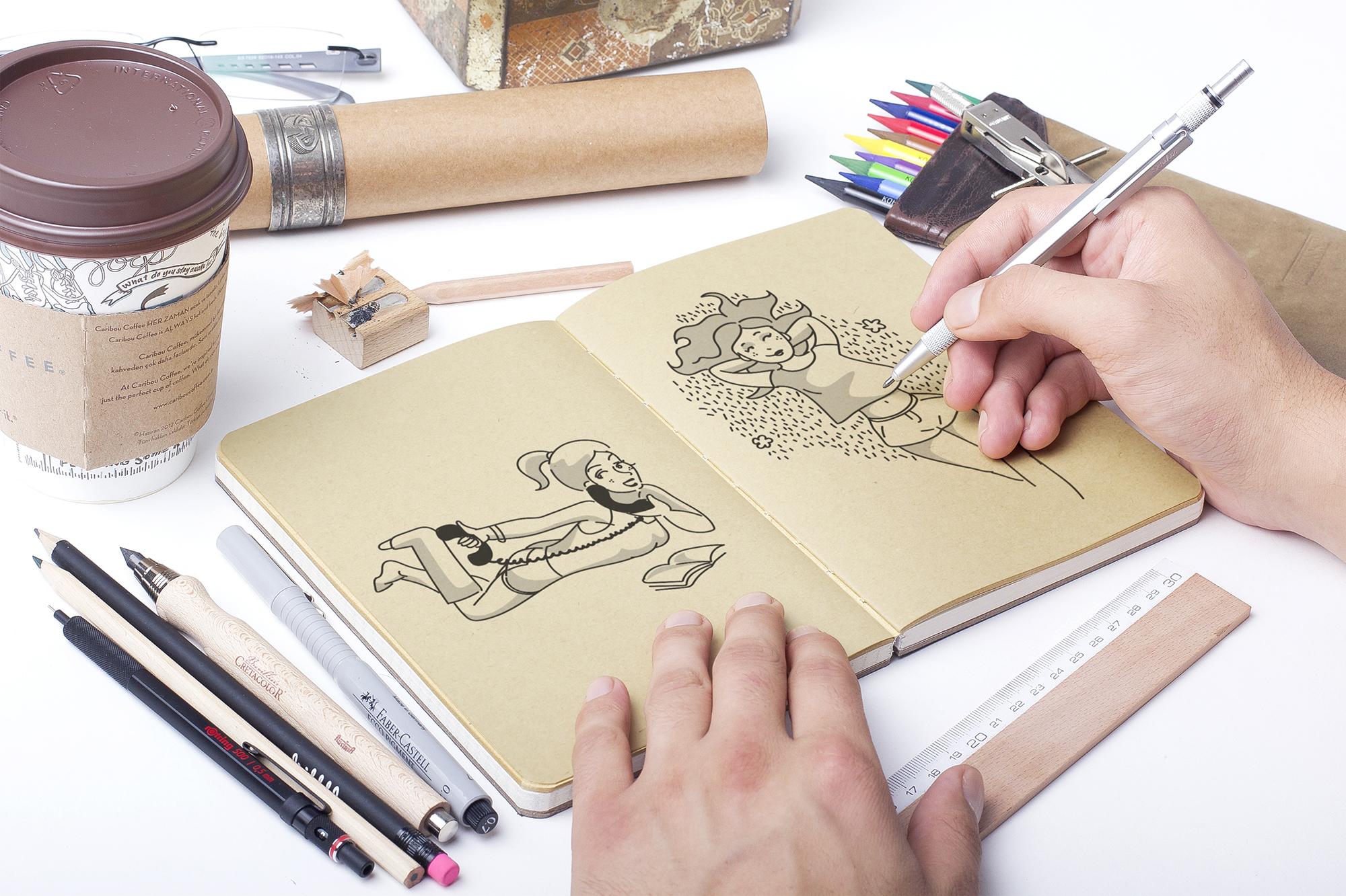 Illustrations variées