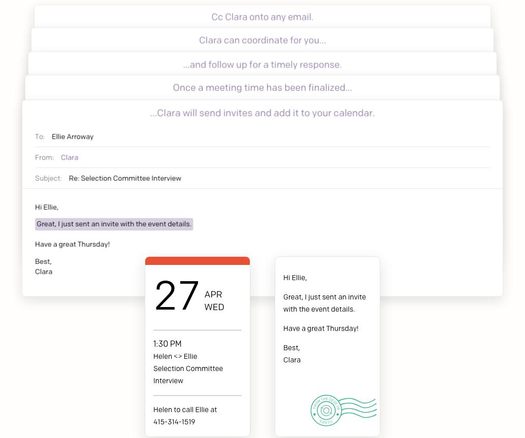 clara time management app