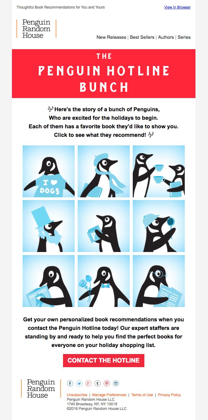 Penguin Random House email