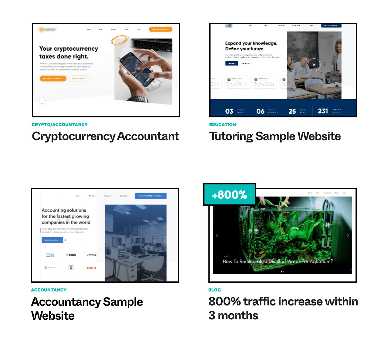 Pristine Digital Webflow Portfolio