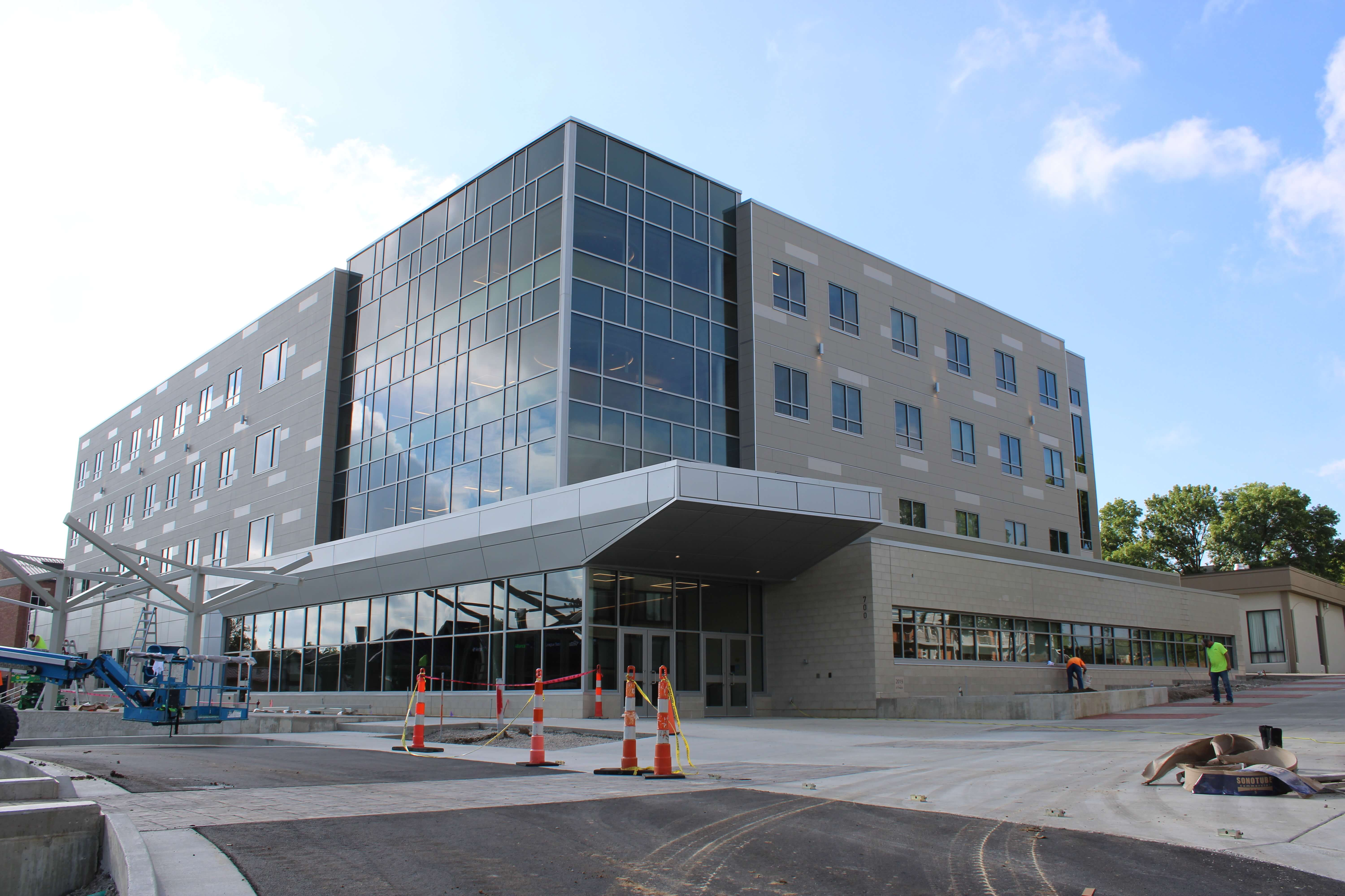 Columbia College New Residence Hall and Business School