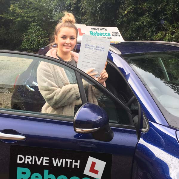 Drive with Rebecca - motoring school in Stratford-upon-Avon