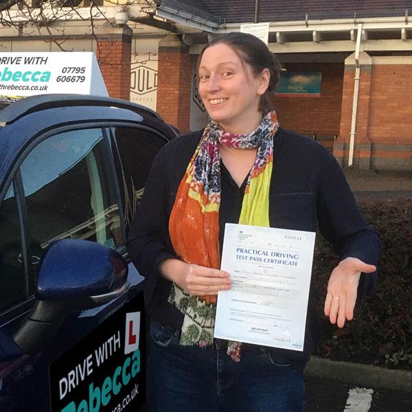 Drive with Rebecca - motoring school in Warwickshire