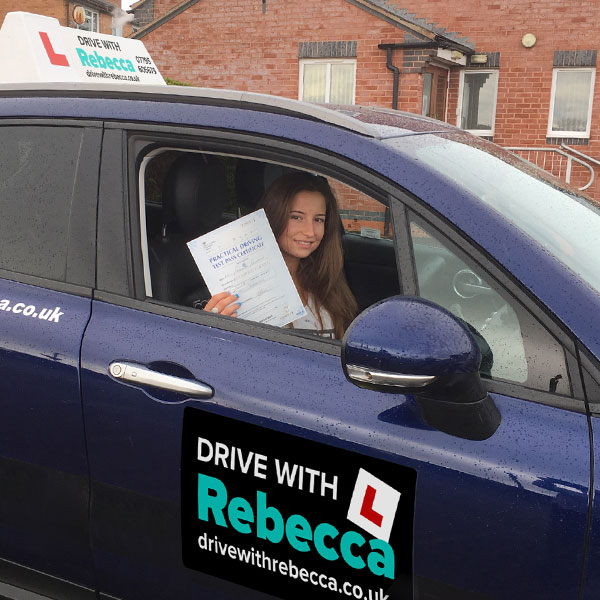 Drive with Rebecca - motoring school in Alcester