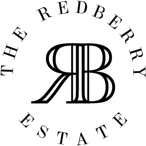 Red Berry Circle Black Logo