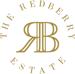 Golden Red Berry Logo