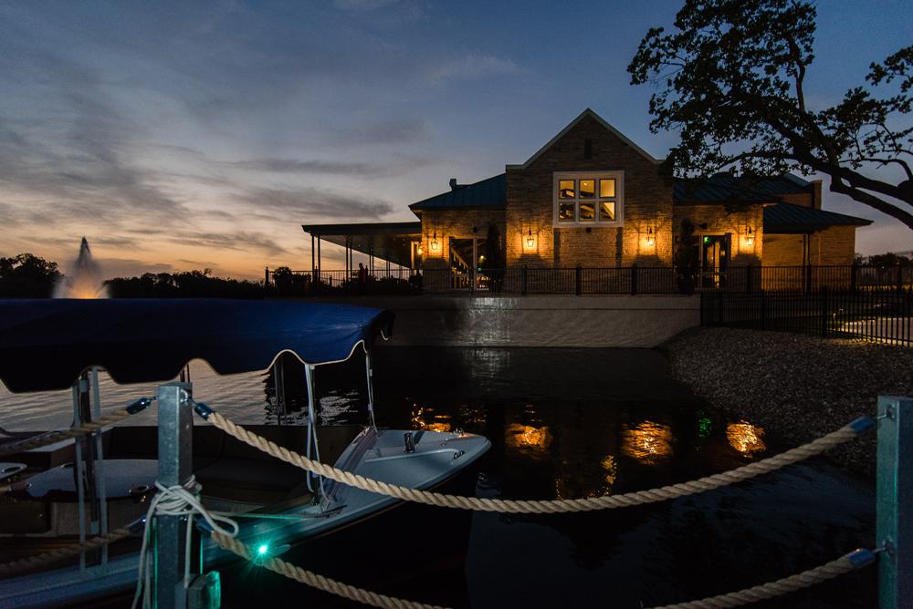 Lakeside venue for event