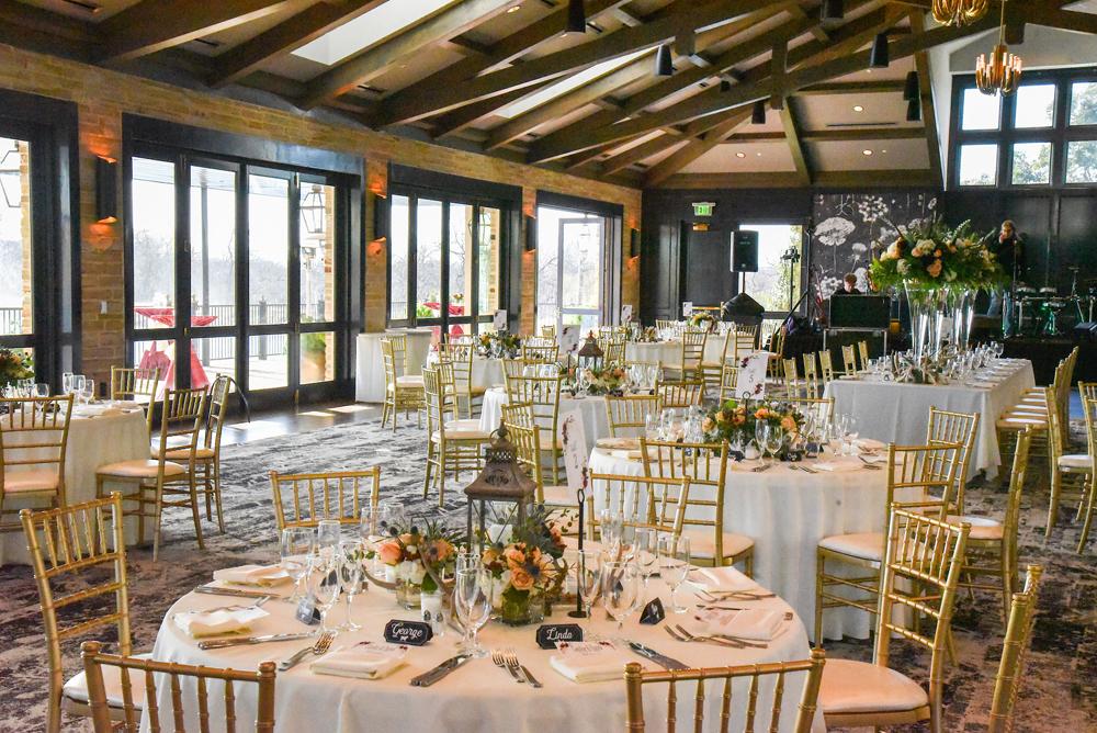 Ballroom for a wedding