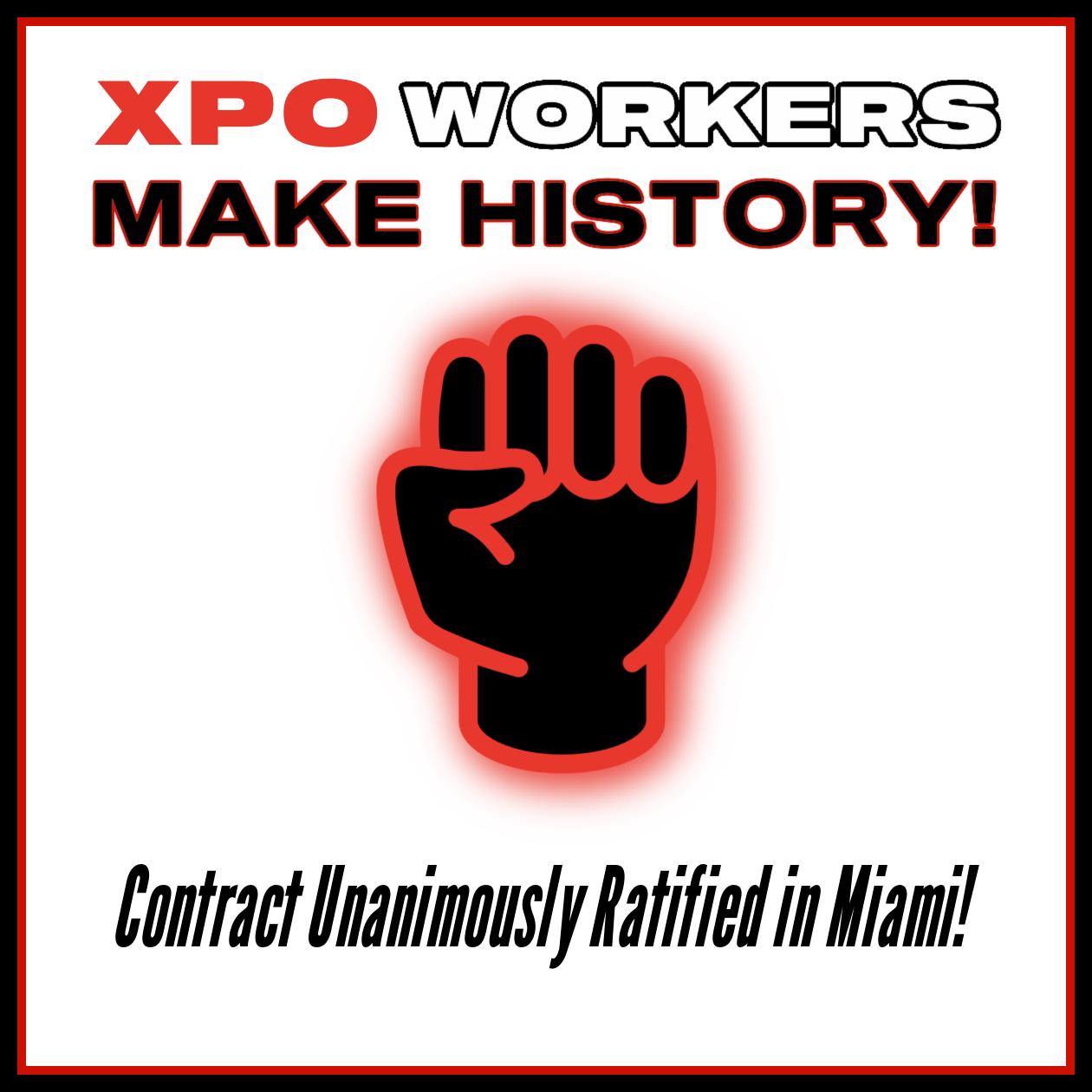 XPO Miami Facebook post